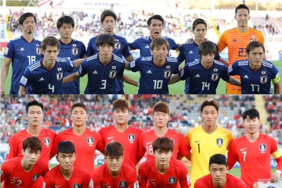 韓国メディアが自国と日本を比較【写真:AP】