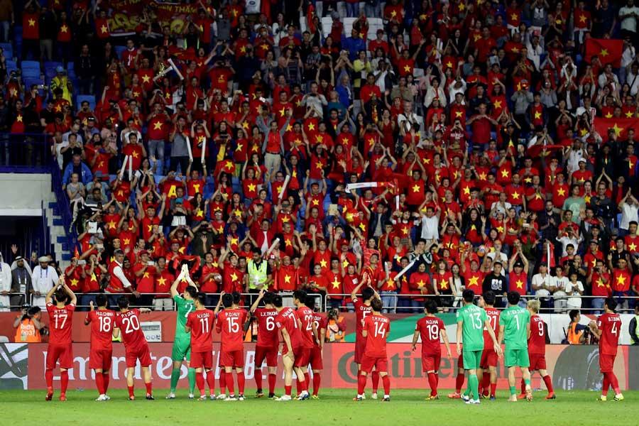 アジアカップで快進撃を続けたベトナム代表【写真:©AFC 】