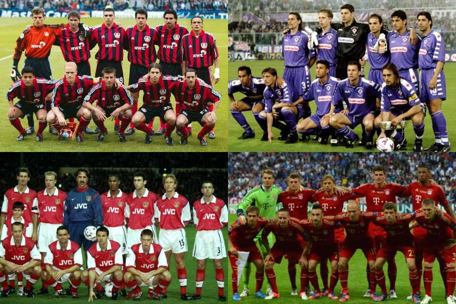 英サッカー専門誌「フォー・フォー・トゥー」が、複数タイトル獲得に迫るも「無冠に終わった10クラブ」を選出した【写真:Getty Images】