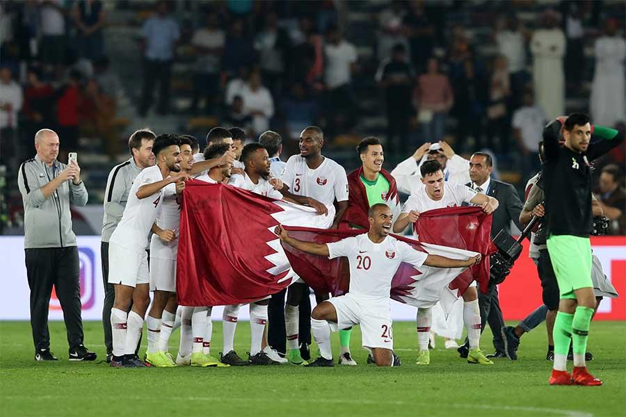 カタール代表がアジアカップ初優勝を飾った【写真:Getty Images】