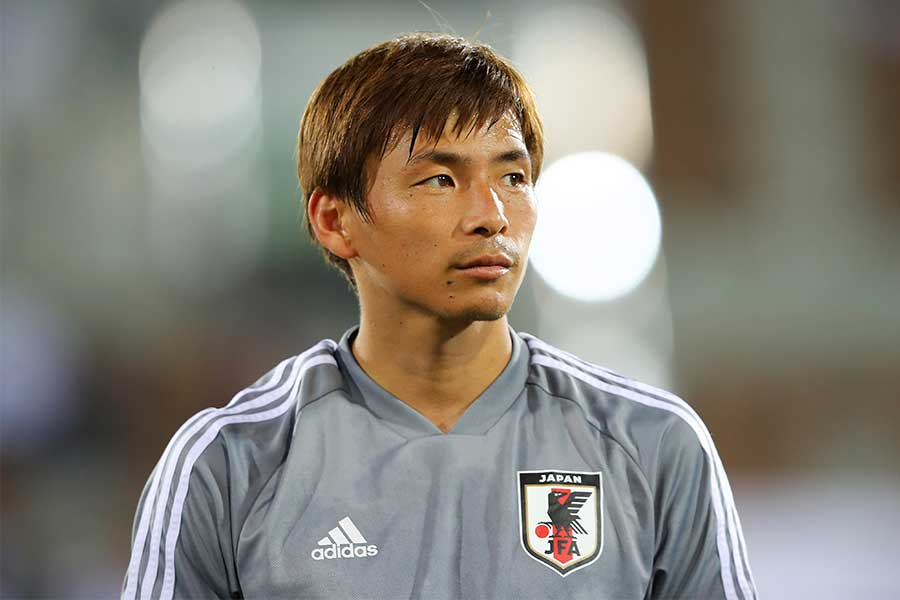 日本代表MF乾貴士【写真:Getty Images】