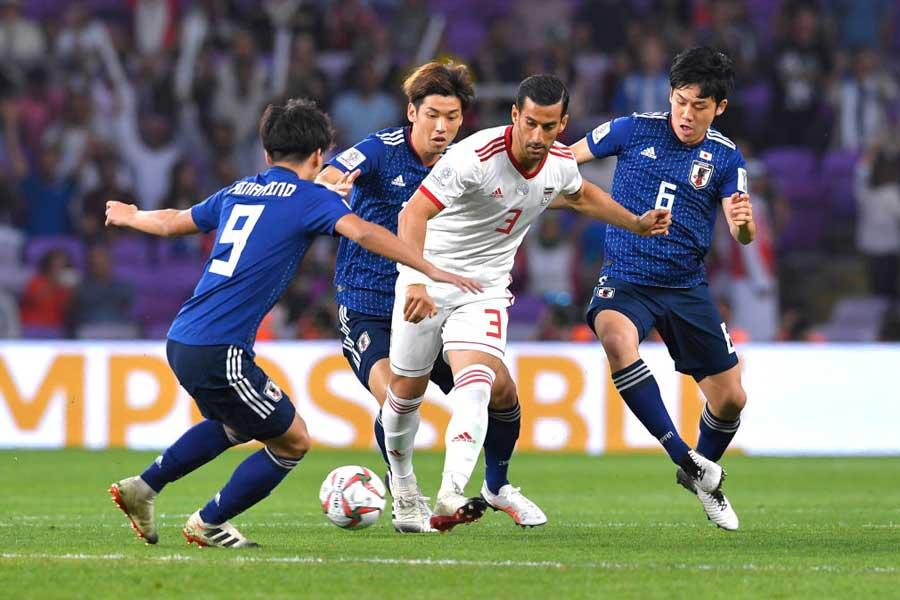 準決勝でイランに3-0と完勝した日本【写真:Getty Images】