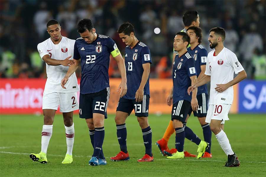 日本は無念のアジア杯準優勝に終わった【写真:Getty Images】