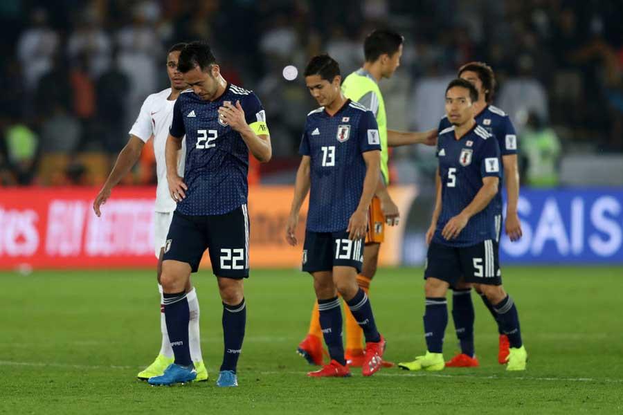 アジアカップ2大会ぶりの優勝を逃した森保ジャパン【写真:Getty Images】