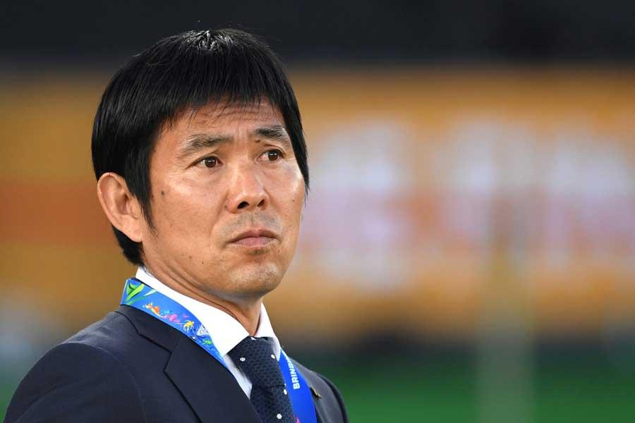 日本代表の森保監督【写真:AP】