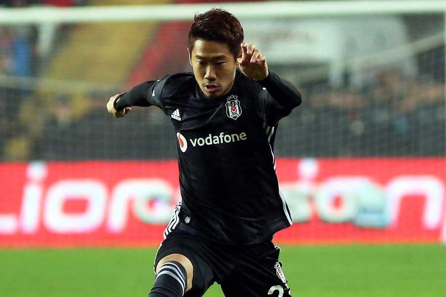 デビュー戦で2ゴールを挙げたMF香川【写真:(C)BesiktasJK】