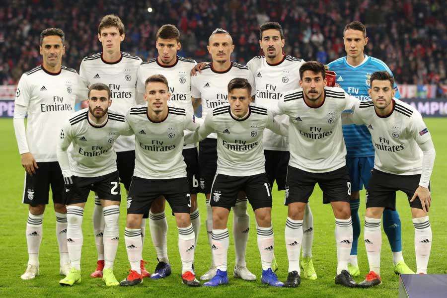 ポルトガルの名門ベンフィカが、リーグ戦で「10-0」の勝利を挙げた【写真:Getty Images】