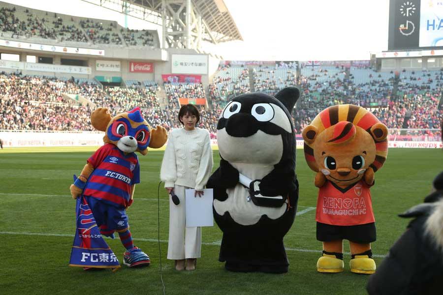 Jリーグマスコット総選挙「4位~53位」が決定した【写真:Football ZONE web】