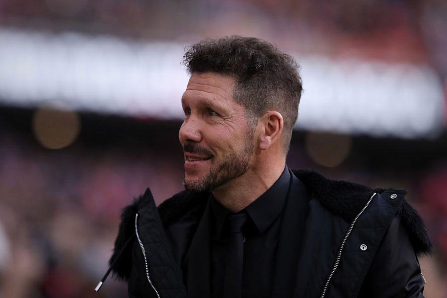 アトレチコ・マドリードがシメオネ監督との契約を2022年まで延長した【写真:Getty Images】