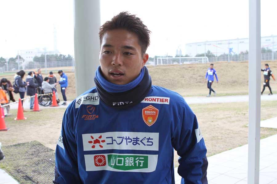 レノファ山口のFW高木大輔【写真:Football ZONE web】