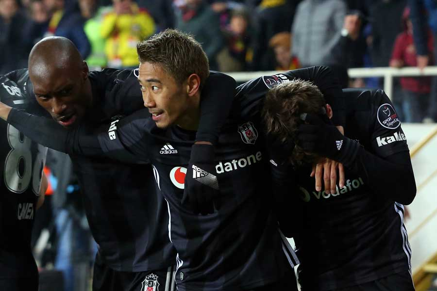 マラティアスポルと対戦し、2-1で勝利を収めたベジクタシュ【写真:(C)BesiktasJK】