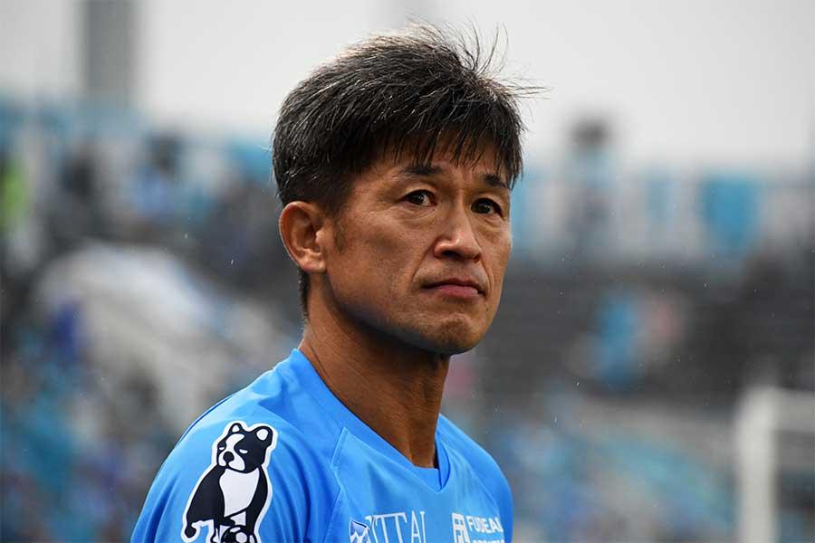 26日に52歳の誕生日を迎えたFW三浦知良【写真:Getty Images】