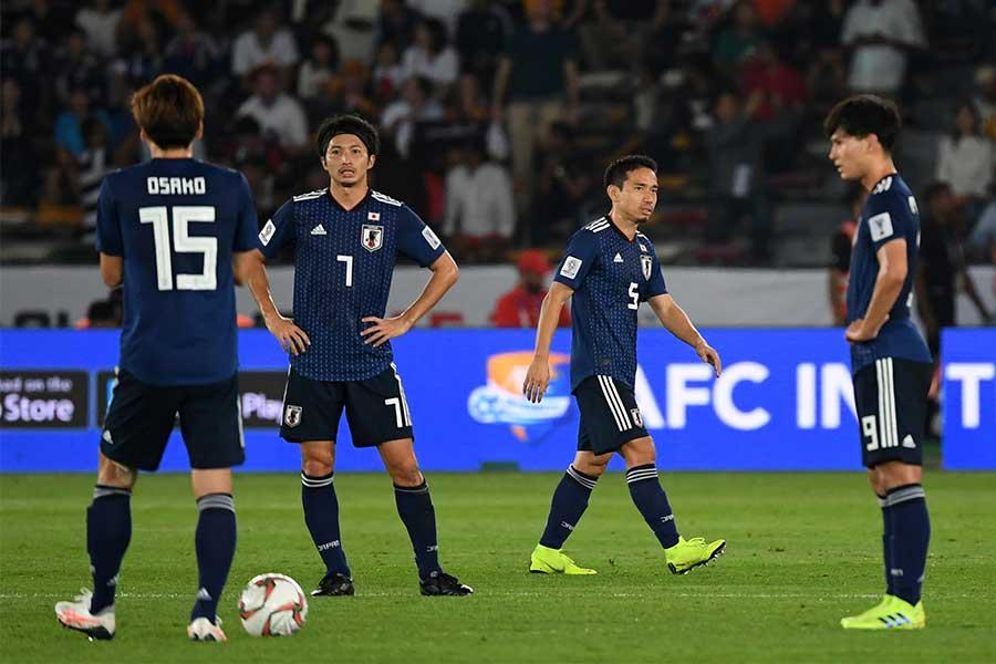 日本が2大会ぶりのアジア杯制覇を逃した【写真:AP】