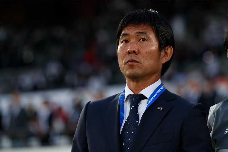 日本代表を率いる森保監督【写真:田口有史】