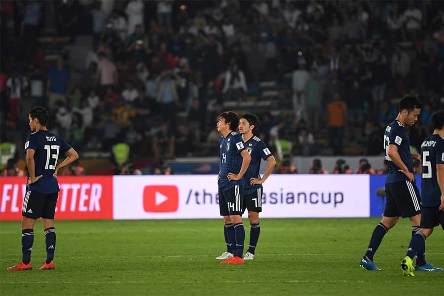 日本は無念のアジア杯準優勝に終わった【写真:AP】