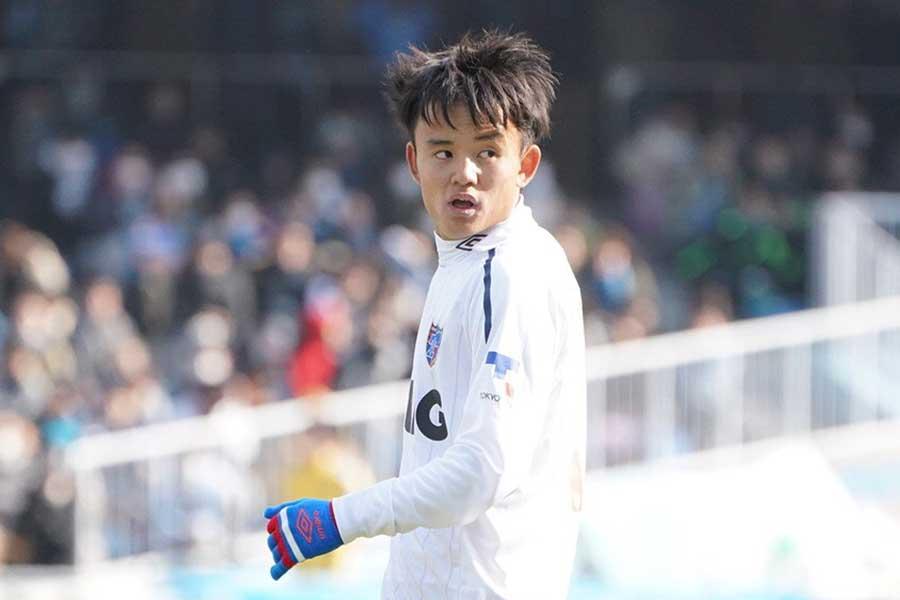 FC東京のFW久保建英【写真:荒川祐史】