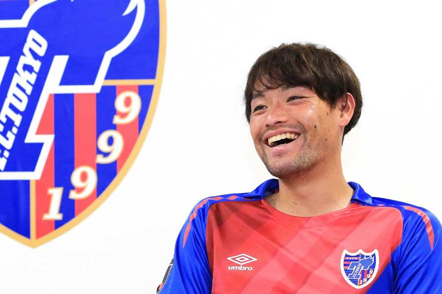 今季からキャプテンに指名されたFC東京のMF東慶悟【写真:Noriko NAGANO 】