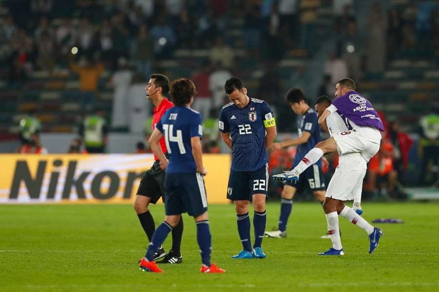 日本は無念のアジア杯準優勝に終わった【写真:田口有史】