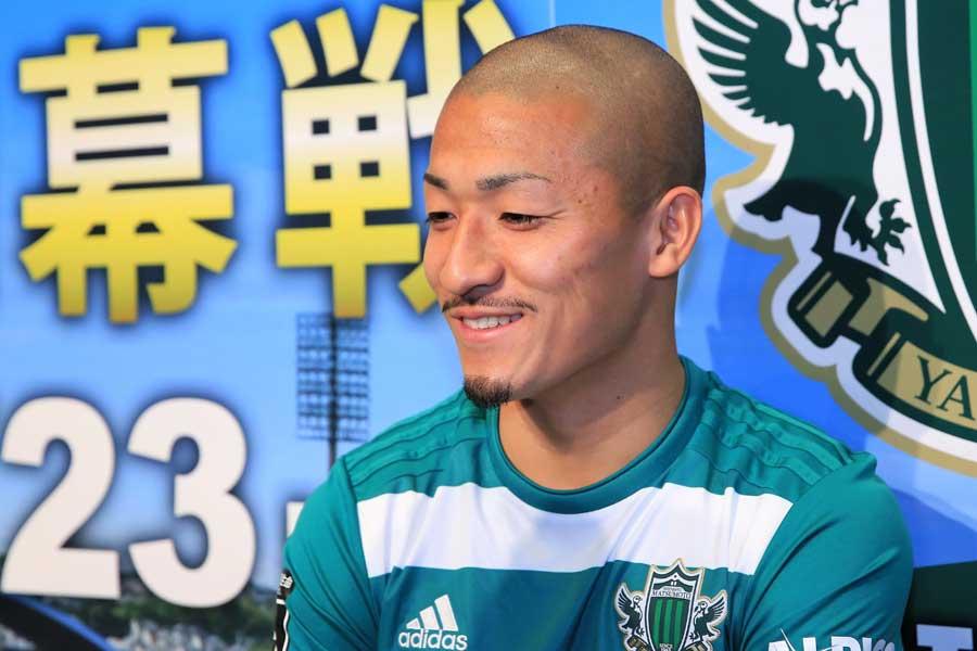 松本山雅FCの前田大然【写真: Noriko NAGANO】