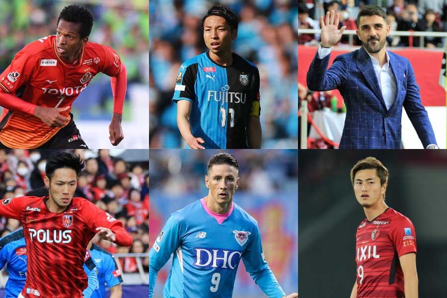 各クラブのFW陣を比較し、その戦力を10点満点(10点が最高)で分析していく【写真:Getty Images & 荒川祐史 & Noriko NAGANO】