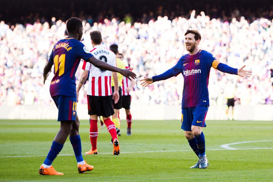 無敗バルセロナ、ビルバオに2-0と快勝【写真:Getty Images】