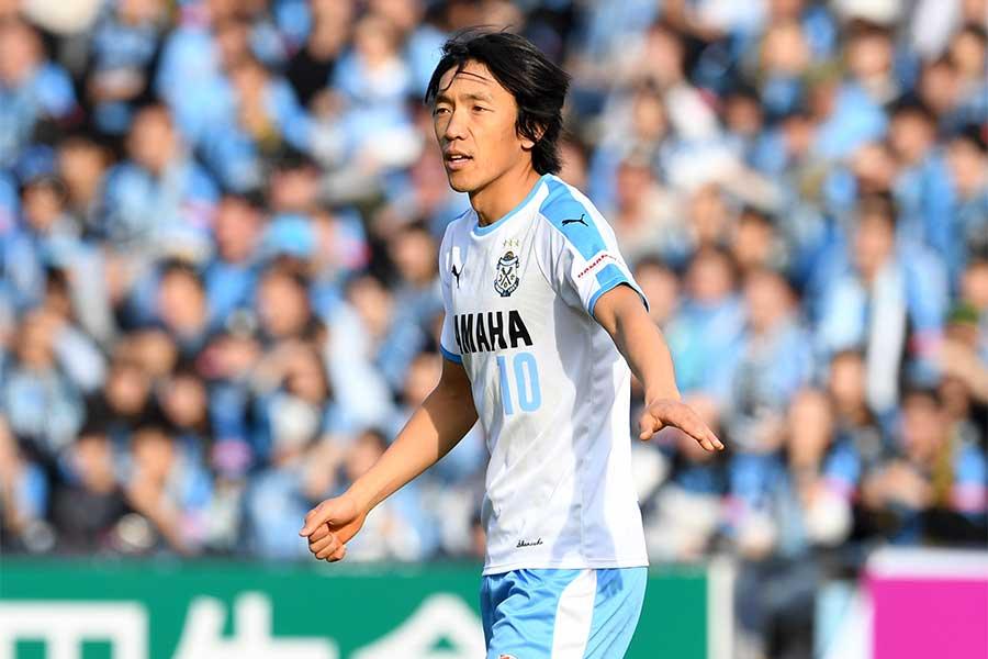 J2横浜FCへの移籍が決まったMF中村俊輔【写真:Getty Images】