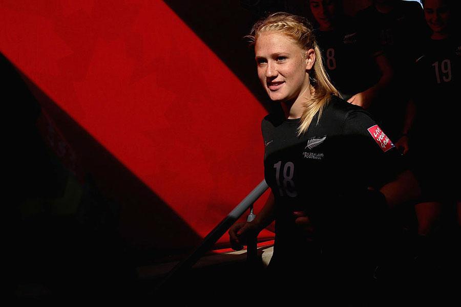 ニュージーランド女子代表のC.J.ボット【写真:Getty Images】