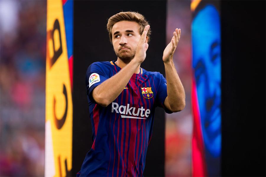 バルセロナは、MFセルジ・サンペールと契約解除することで合意した【写真:Getty Images】