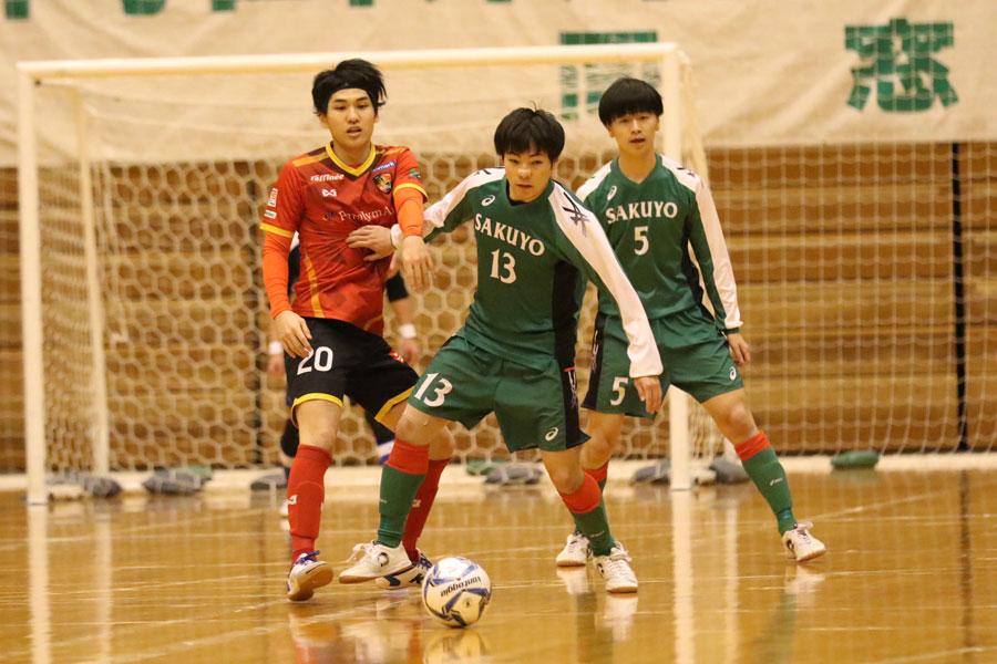 岡山県の作陽高校は、全日本フットサル選手権に出場した【写真:河合拓/Futsal X】