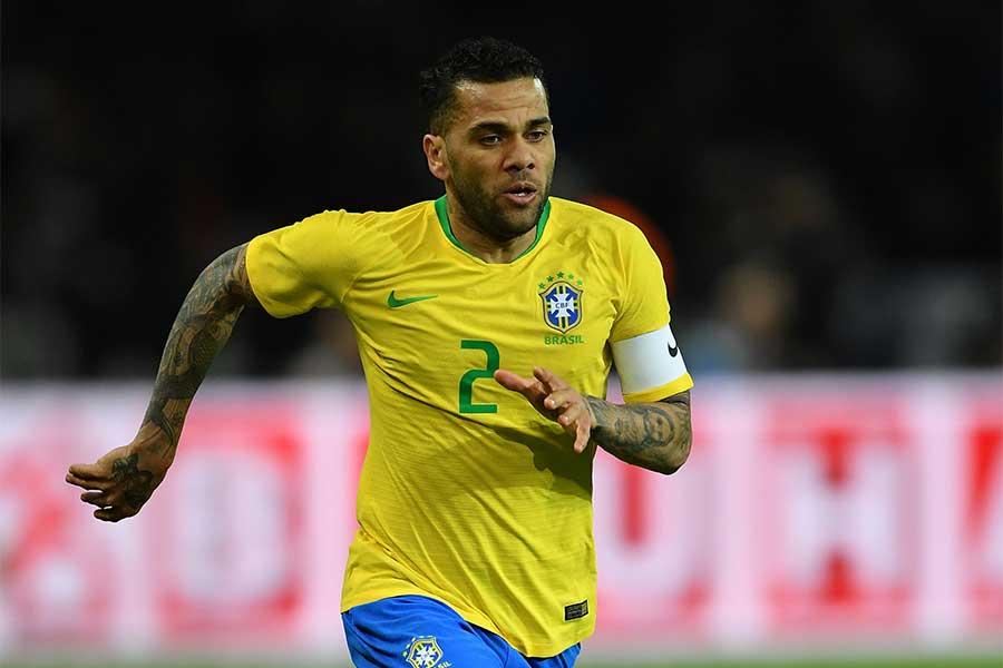 ブラジル代表DFダニエウ・アウベス【写真:Getty Images】