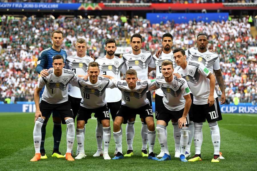 ロシアW杯ではGS敗退と憂き目に遭ったドイツ代表【写真:Getty Images】