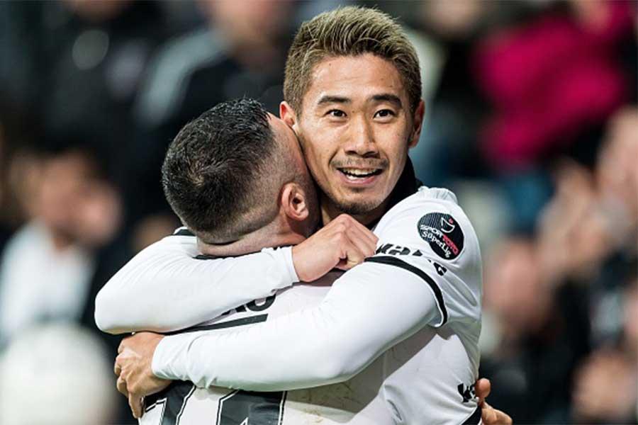 香川が途中出場から決勝ゴールを挙げる活躍を見せた【写真:Getty Images】