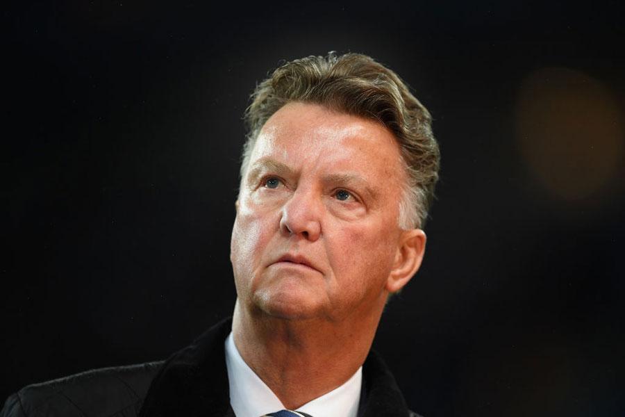 ファン・ハール氏が、サッカー界からの引退を発表した【写真:Getty Images】