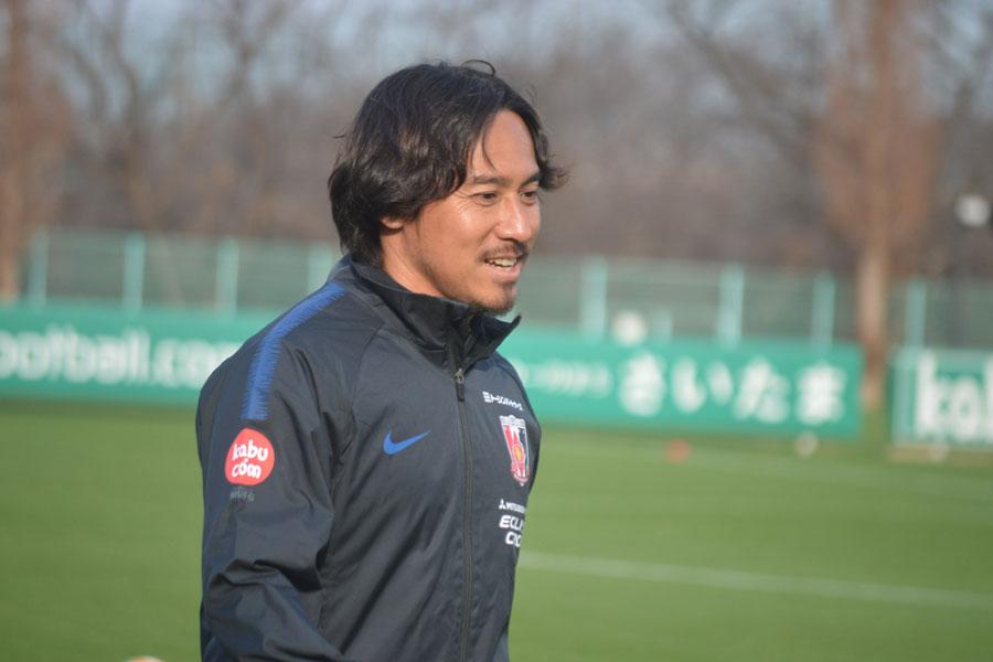 浦和レッズのコーチに就任した平川氏【写真:轡田哲朗】