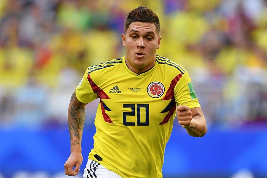 コロンビア代表MFキンテーロ【写真:Getty Images】
