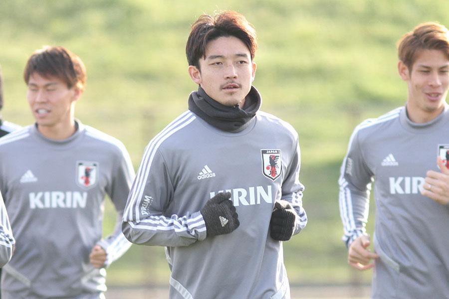 日本代表DF西大伍【写真:Football ZONE web】