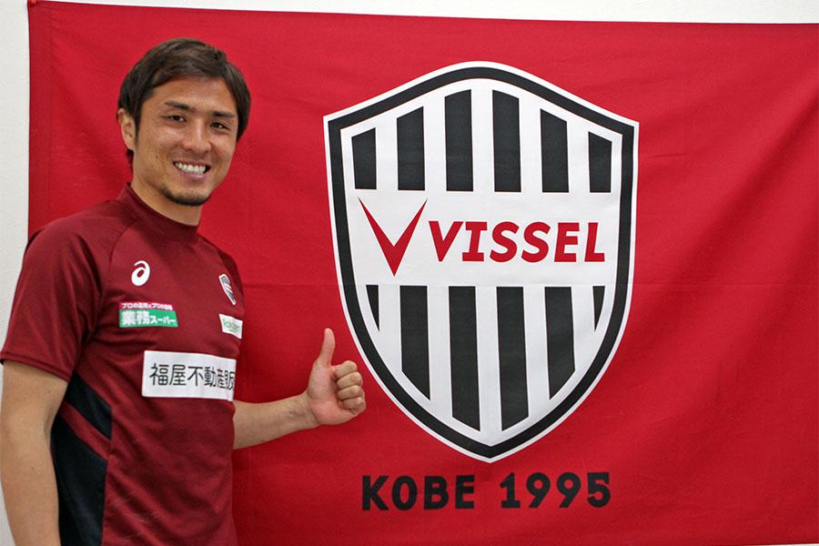 ヴィッセル神戸のDF那須大亮【写真:Football ZONE web】