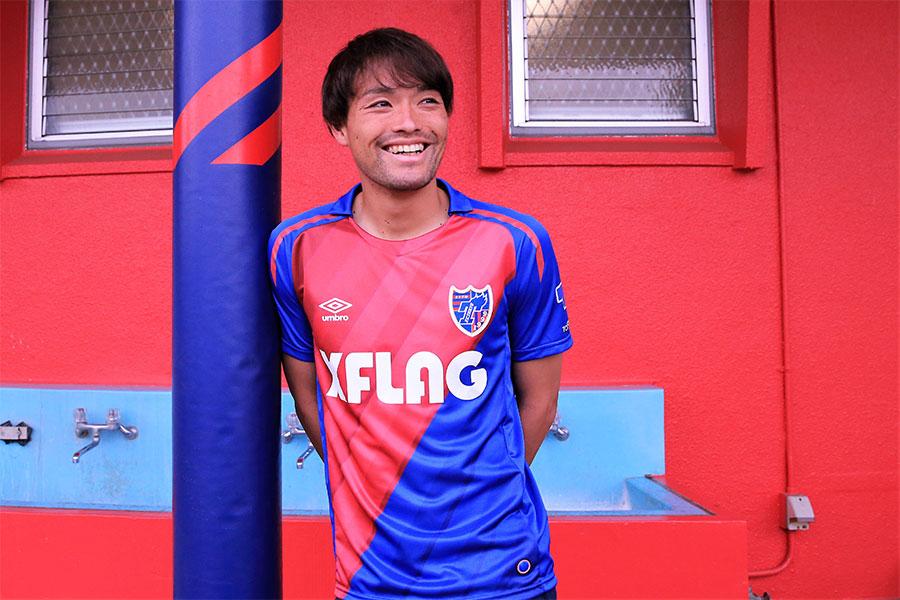 FC東京のMF東慶悟【写真:Noriko NAGANO】