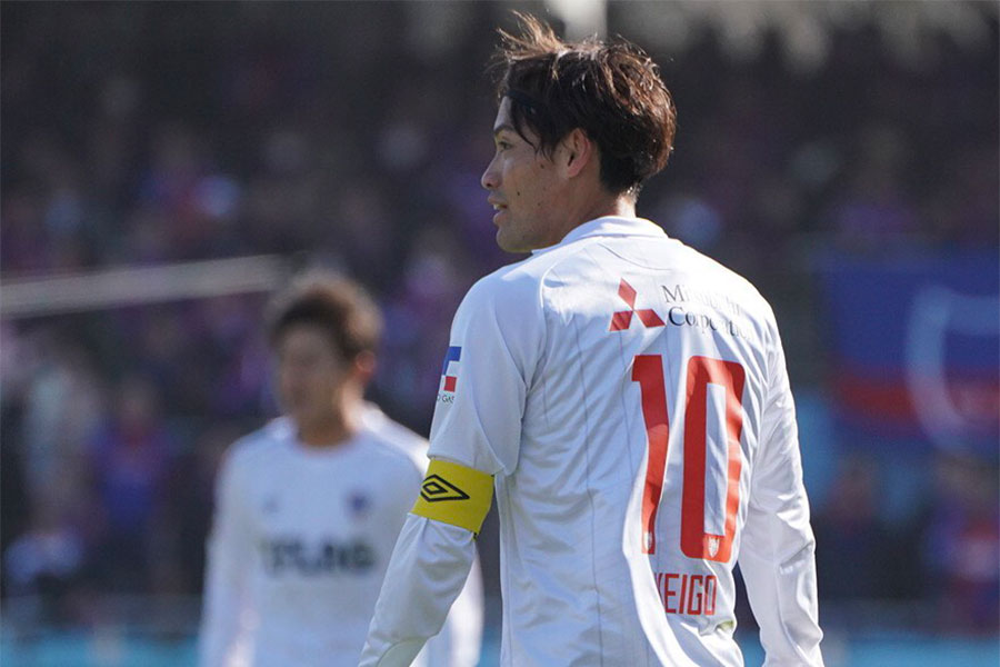 FC東京で「背番号10」を背負うMF東慶悟【写真:荒川祐史】