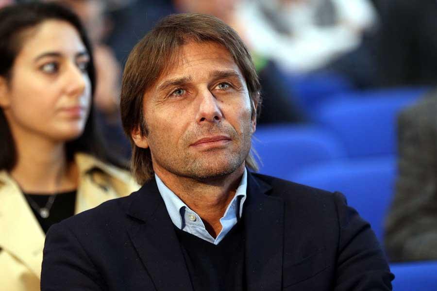 ローマの来季新監督候補に挙がっているコンテ氏【写真:Getty Images】