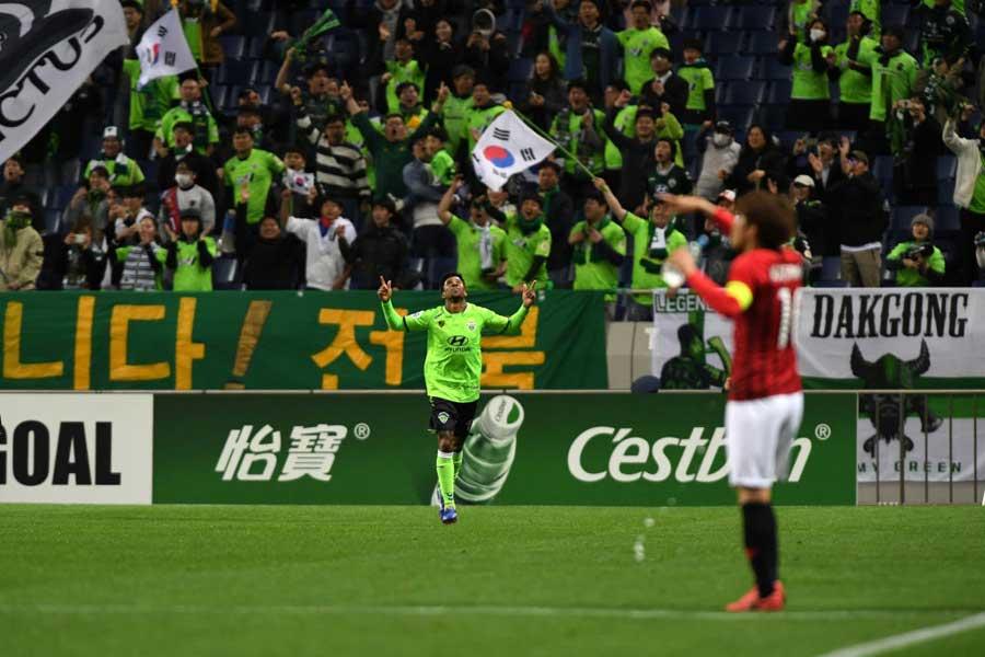 浦和レッズは、全北現代に0-1で敗れた【写真:Getty Images】