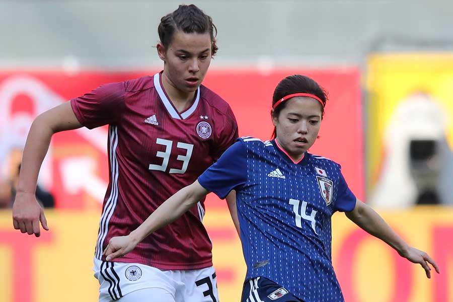 フランス女子W杯メンバー発表前最後の強化試合は、2-2の引き分けに終わった【写真:Getty Images】