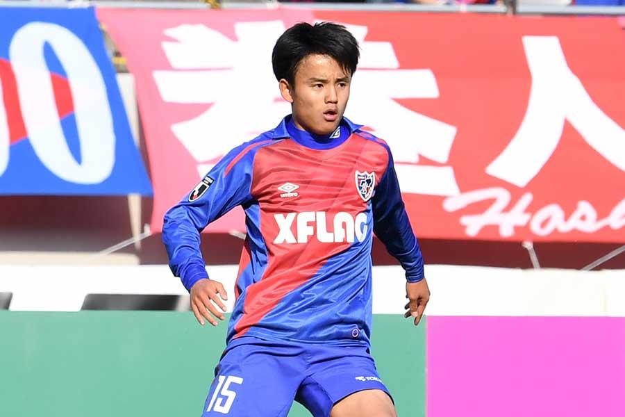 FC東京のMF久保建英【写真:Getty Images】