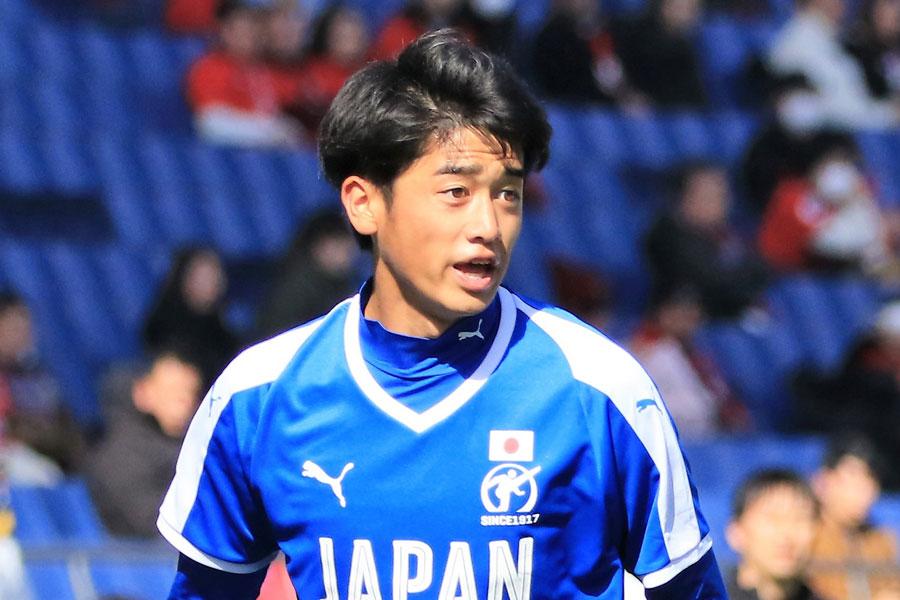U-20日本代表のFW西川潤【写真:Noriko NAGANO】