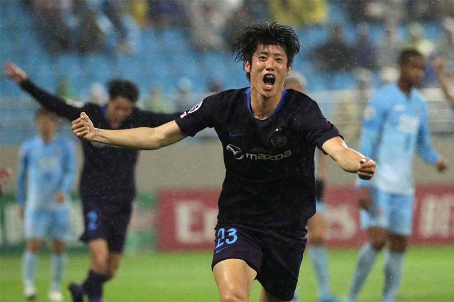 サンフレッチェ広島が大邸FCに1-0で勝利した【写真:Getty Images】