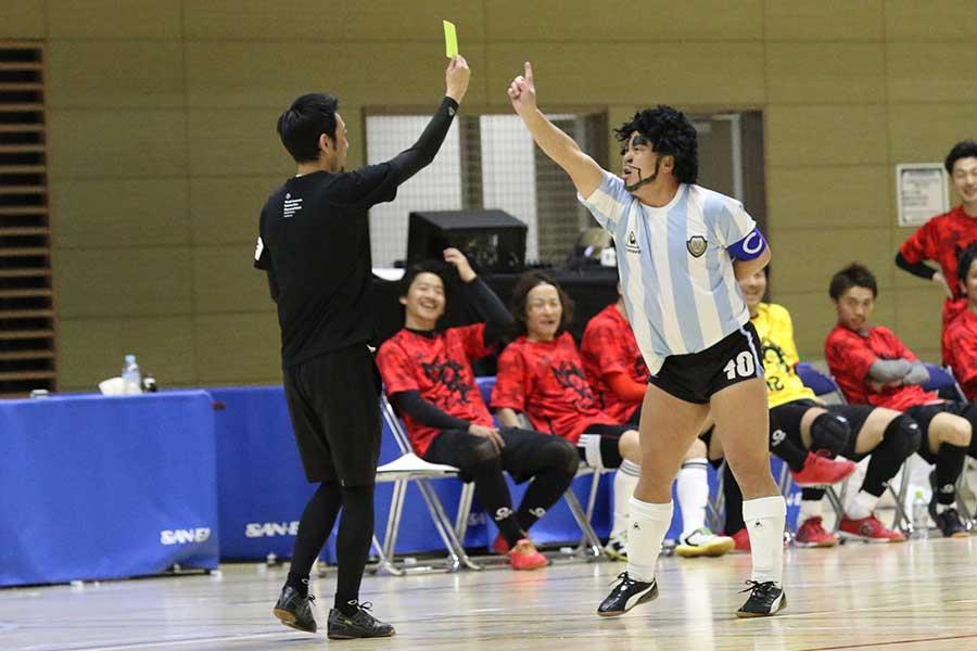 ディエゴ・加藤・マラドーナは、サッカーやフットサルの現場で幅広い活躍を見せている【写真:河合拓/Futsal X】