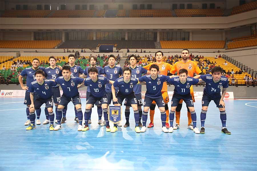 日本サッカー協会は、フットサル日本代表候補トレーニングキャンプメンバー19名を発表した【写真:河合拓/Futsal X】