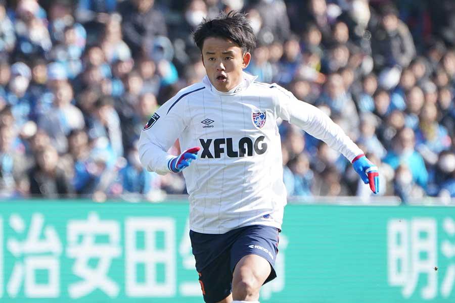 FC東京のMF久保建英【写真:荒川祐史】