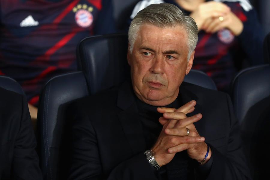 イタリア代表監督就任が破談とされるアンチェロッティ氏は、ユベントス復帰が噂される【写真:Getty Images】