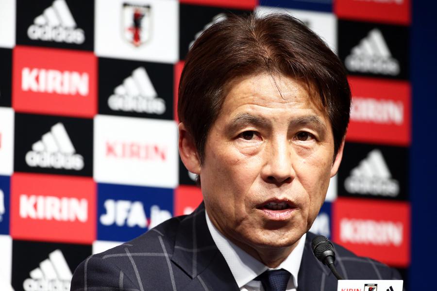 西野監督率いる日本代表は予備登録メンバーを公表せず、5月31日に大会メンバー23人を発表する【写真:Getty Images】
